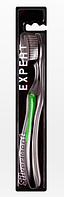Щетка зубная SILVER DENT Expert ЧЕРНАЯ (средней жесткости)