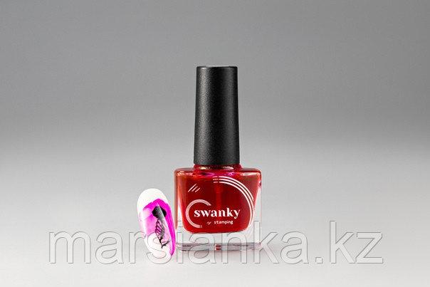 Акварельные краски Swanky Stamping, №6, розовый, 5мл.