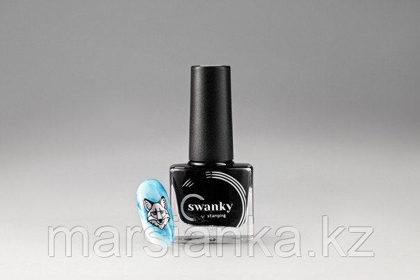 Акварельные краски Swanky Stamping, №15, голубой, 5мл.