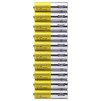 Батарейка щелочная, АЛКАЛИСК LR6 AA 1,10 шт, ИКЕА IKEA