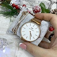Подарочный набор Часы и браслет DW, фото 1