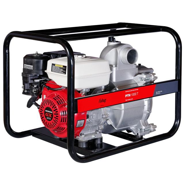 Мотопомпа бензиновая PTH 1000T с двигателем Honda 1000 л/мин 27 м 25 мм