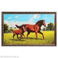 """Картина """"Лошадь с жеребёнком"""""""