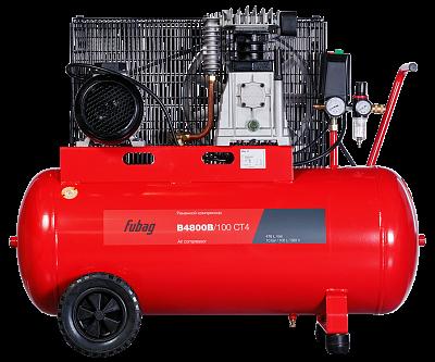 FUBAG, компрессор B4800B/100 CT4, 480 л/мин, 100л, 10бар, 3.0кВт, фото 2