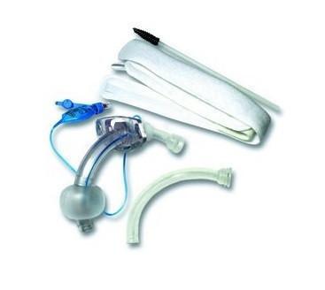 Трахеостомическая трубка с манжетой в наборе с аксессуарами 9 мм