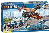 Конструктор LARI City Воздушная полиция: кража бриллиантов 11209 (Аналог LEGO 60209) 424 дет