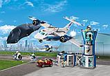 Конструктор LARI City Воздушная полиция: авиабаза 11210 (Аналог LEGO City 60210) 559 дет, фото 3