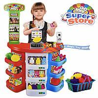 Игровой набор Супермаркет со сканером, 38 предметов