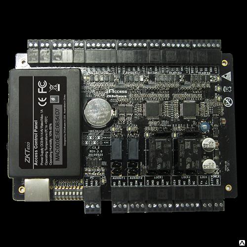 ZKTeco C3-200 Контроллер для управления СКУД, на 2 двери, 4 считывателя