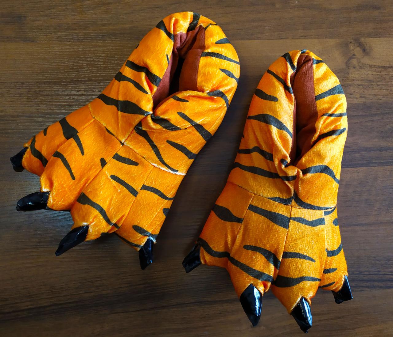 """Тапки-лапки """"Тигр"""""""