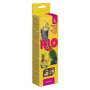Рио палочки с тропическими фруктами для средних попугаев