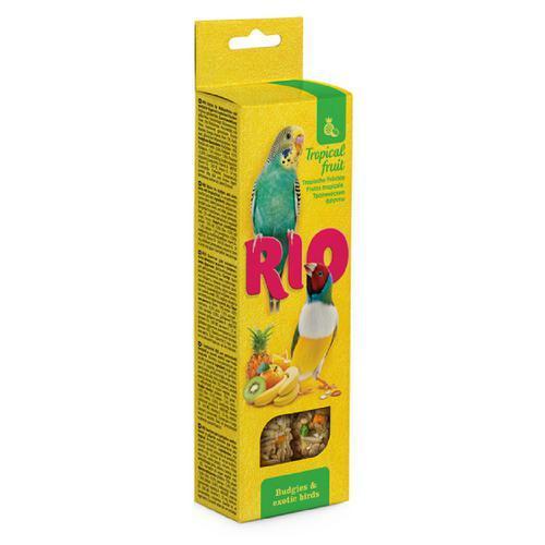 Рио палочки с тропическими фруктами для волнистых попугайчиков и экзотов