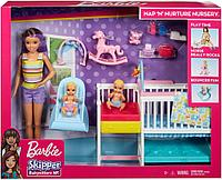 Барби Няня большой игровой набор с аксессуарами Barbie, фото 1