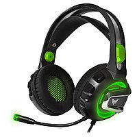 Наушники игровые CMGH-3102 bk/green