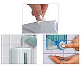 Дозатор (диспенсер) Vialli для жидкого мыла 500 мл.Белый цвет. Мыльница., фото 4