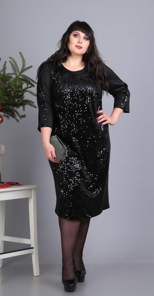 Платье Novella Sharm-3362-1, черный, 58
