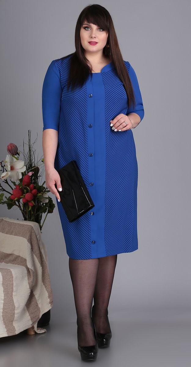 Платье Novella Sharm-3413, синий, 64