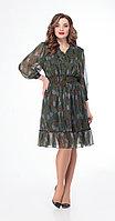 Платье Дали-3450, зеленый, 44