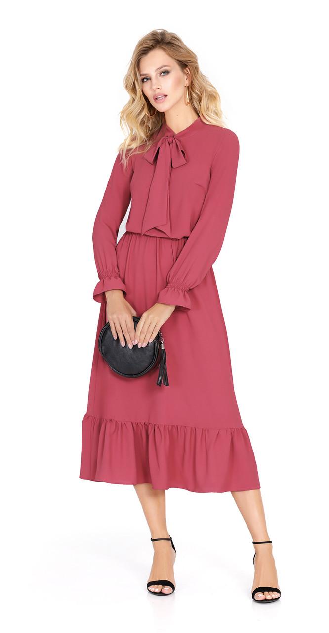 Платье PiRS-915, коралл, 42