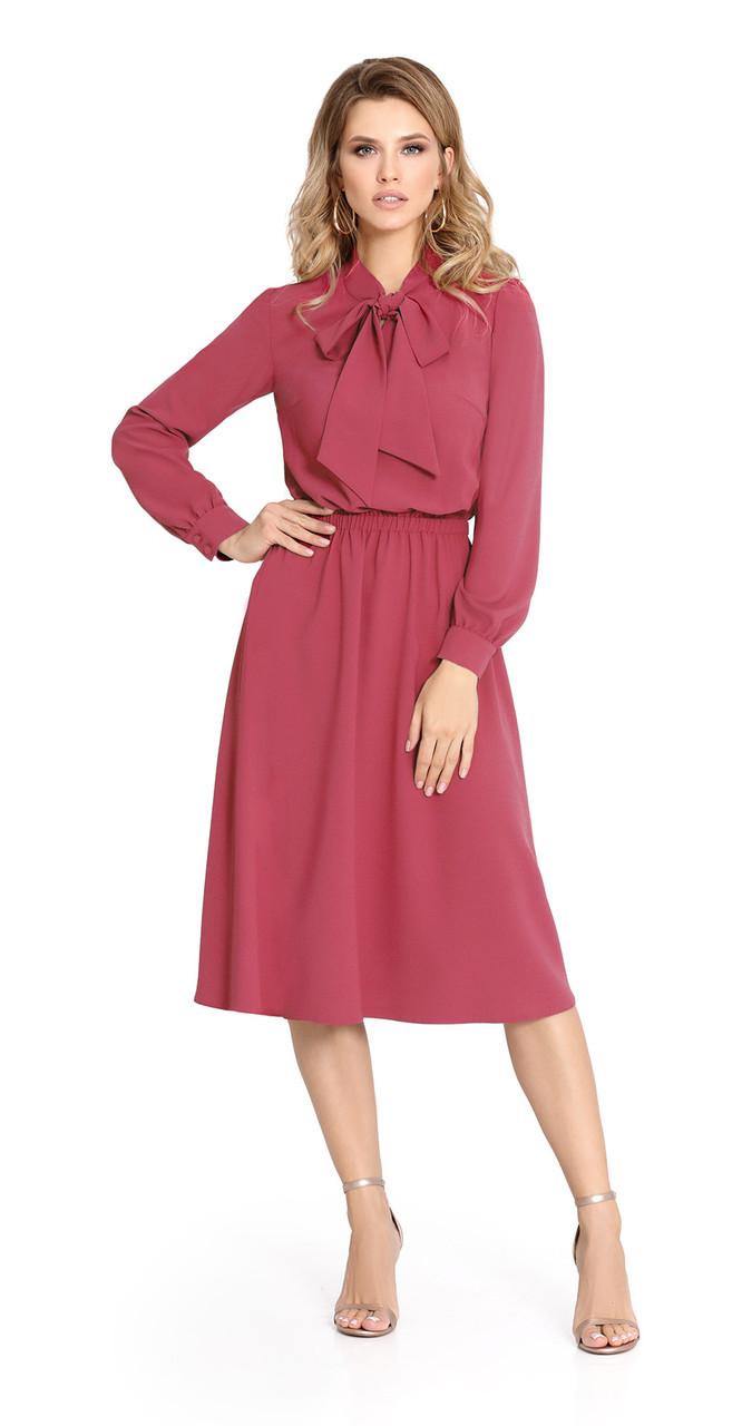 Платье PiRS-917/1, коралл, 42