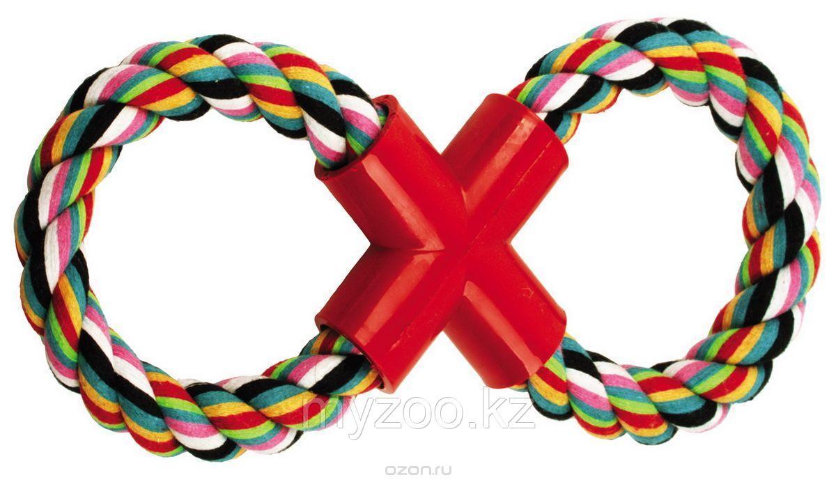 Игрушка для собак, плетеная веревка, 35см