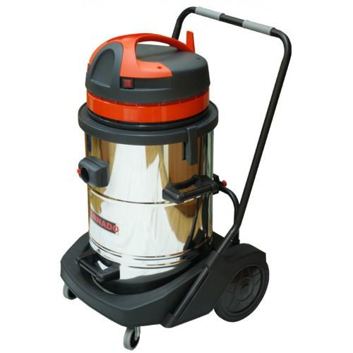 Пылесосы для сухой и влажной уборки серия TORNADO (бак из нержавеющей стали) TORNADO 640 Inox 11346 ASDO