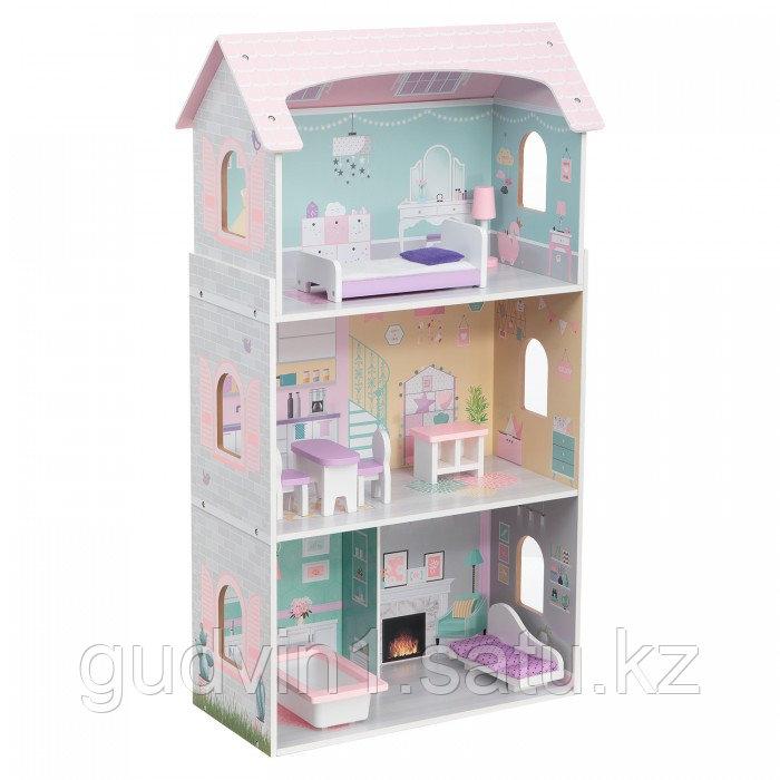 Кукольный дом с мебелью Edufun  EF4121 (8 предметов)  01-08308