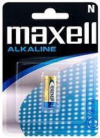Батарейки алкалиновые   Maxell Alkaline N/LR1