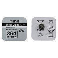 Батарейка  алкалиновая  таблетка Maxell SR621SW (364)