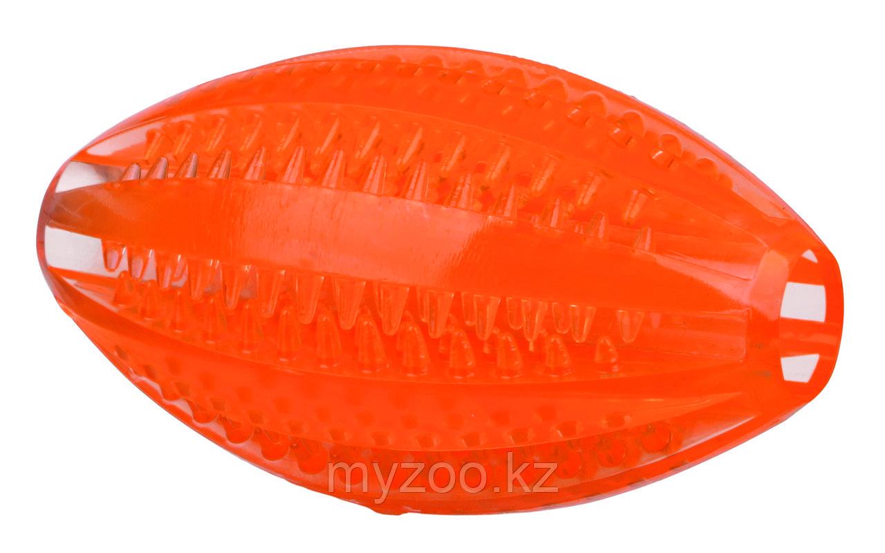 Игрушка для собак. Мяч регби,Р-р 10 см