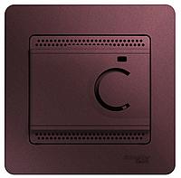 Термостат Glossa электронный для теплого пола с датчиком 10А SchE GSL0011
