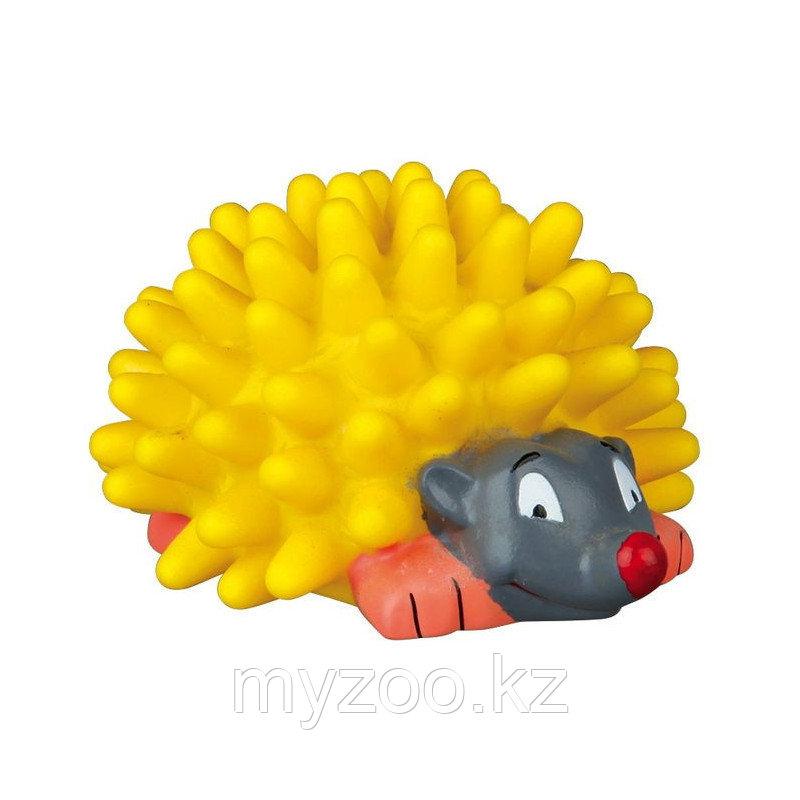 Игрушка для собак, ежик, со звуком, винил.  Разный цвет.   Р-р  7 cm
