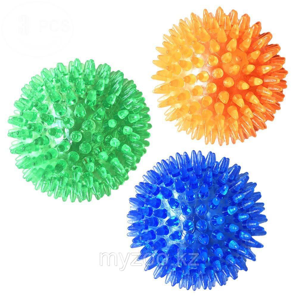 Игрушка для собак, игольчатый мяч, TPR, ø 10 cm.