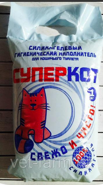 Наполнитель Супер Кот 1кг силикагель