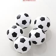 Игрушка для собак, мяч футбольный, со звуком, винил.       ø 10cm, фото 2