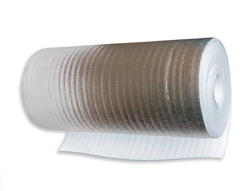 Подложка с фольгой 5 мм (комплект - 1х45 м)