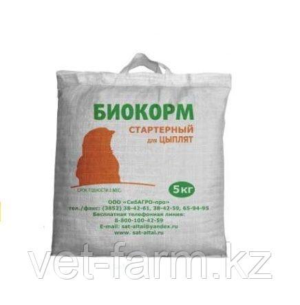 Биокорм Стартер для цыплят 5 кг