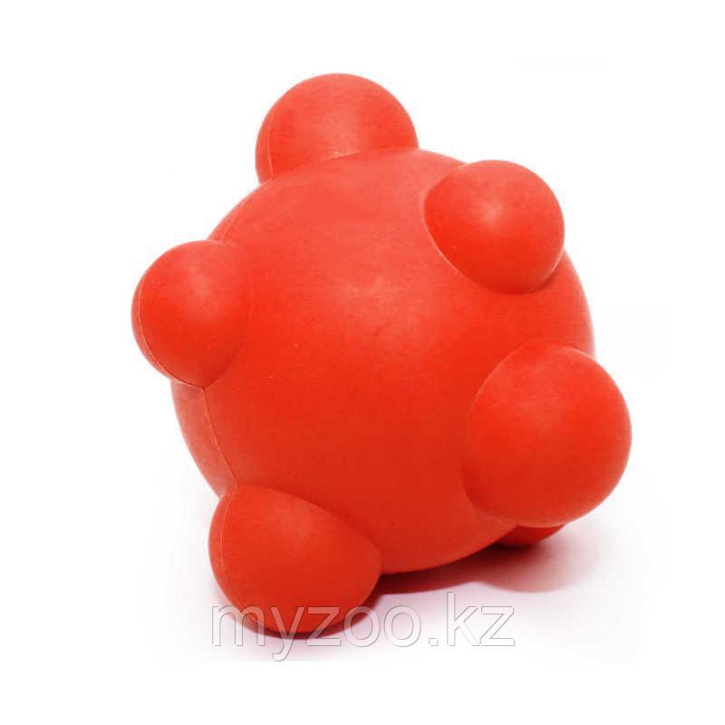 Игрушка для собак, из каучука, с  круглыми выступами. Разный цвет.   ø 7 cm