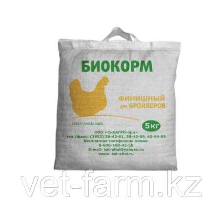 Биокорм Финиш для бройлеров 5 кг готовый корм
