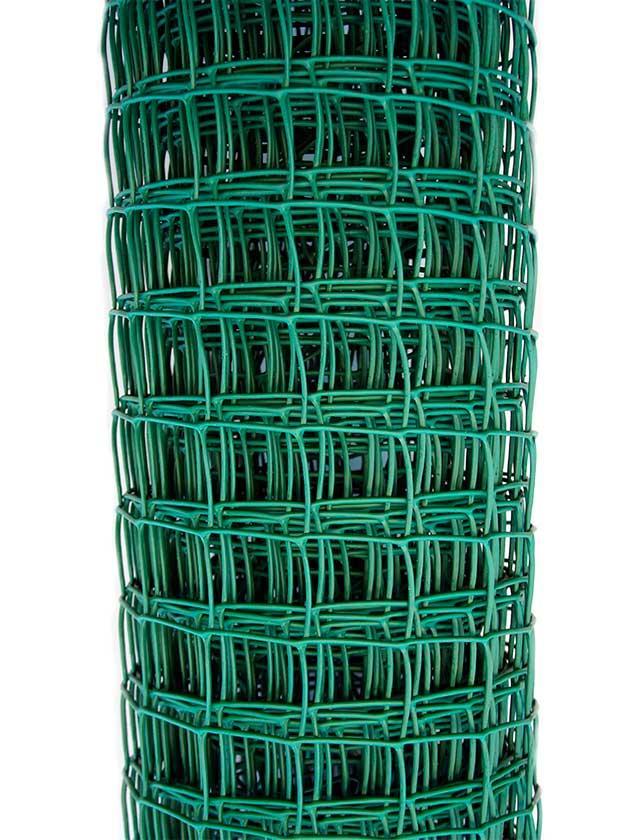 Заборная решетка в рулоне 1,8x25 м, ячейка 60х60 мм/ Россия