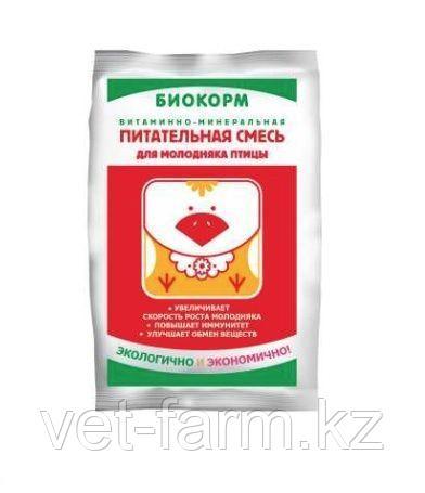 Биокорм для кур 1% премикс 1 кг