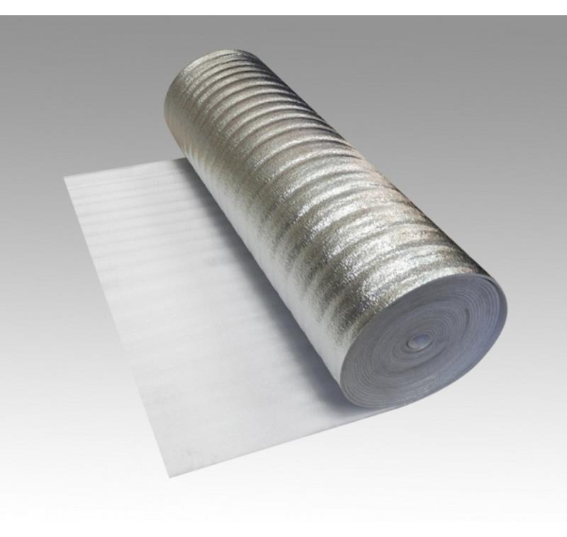 Подложка с фольгой 3 мм (комплект 1х80 м)
