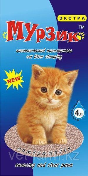 Наполнитель для туалетов Мурзик экстра 4 кг
