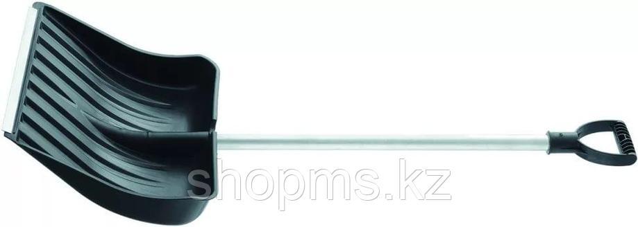 Лопата снеговая, 512х408 мм, алюмин. черенок, морозостойкий пластик // СИБРТЕХ Россия, фото 2