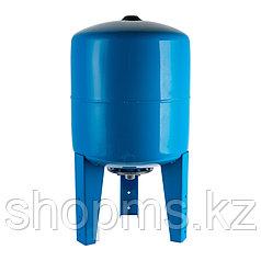 STW-0002-000100 Stout расширительный бак гидроаккумулятор 100л. вертикальный (синий)