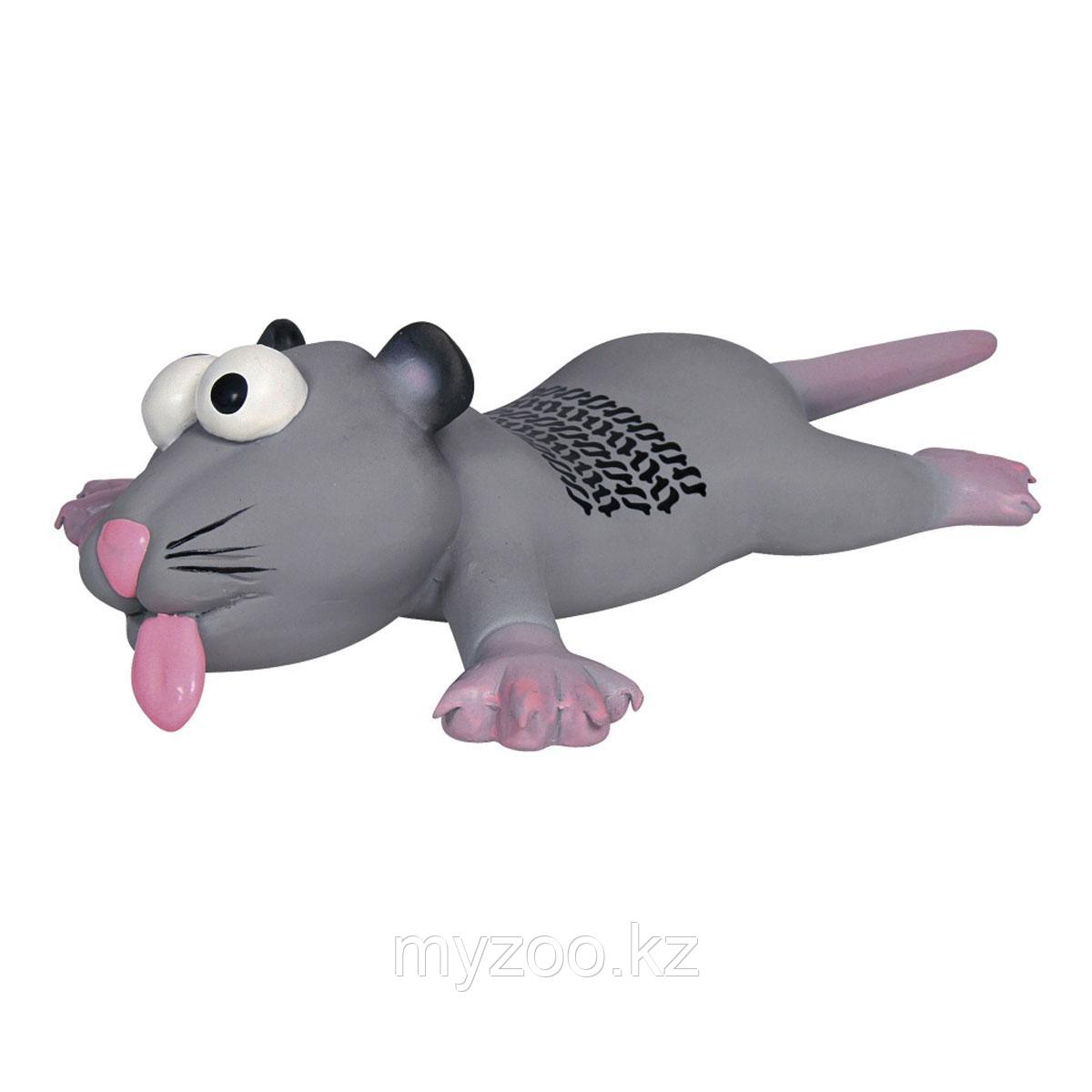 Игрушка для собак. Латекс. Пищащая. Крыса и мышь. Размер 22см.