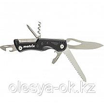 Нож многофункциональный, 7 функций, в чехле, 107 мм Matrix 17624, фото 3