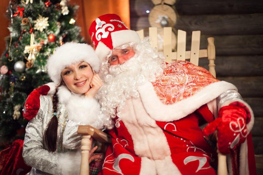 Дед мороз в Алматы