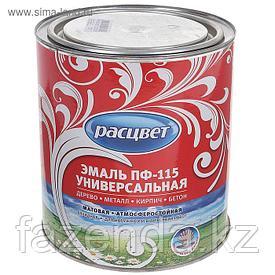 Эмаль Расцвет пф-115 белая,  матовая 2,7 кг