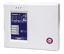 Гранит 4А - Прибор приемно-контрольный и управления охранно-пожарный на 4 шлейфа с автодозвоном и GSM модулем.